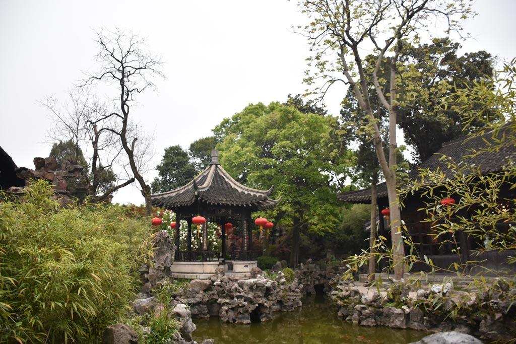 揚州,个園