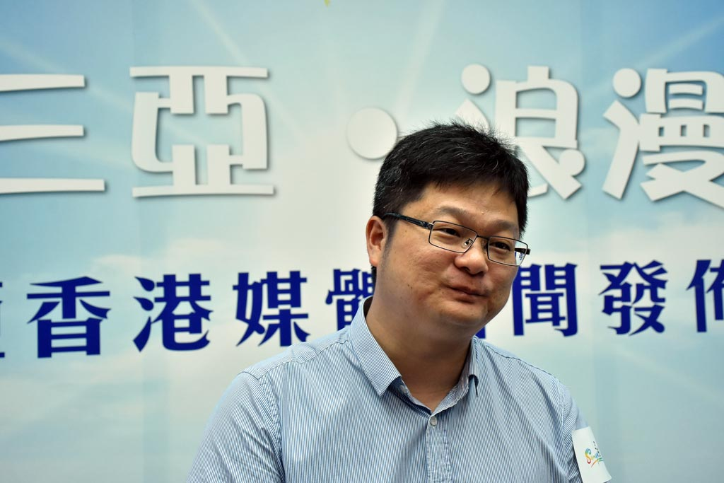 三亞旅游發展委員副主任叶凯中先生