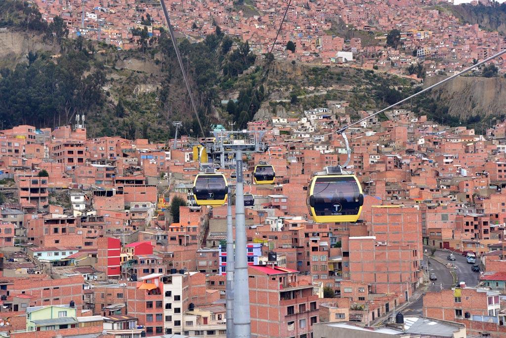 玻利維亞纜車