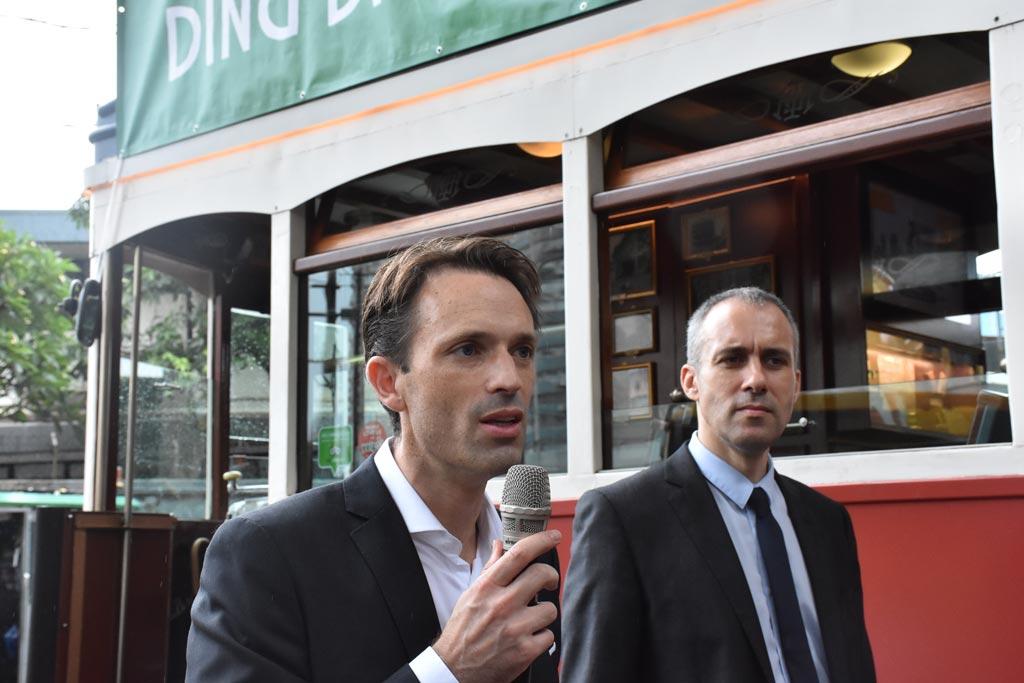 香港電車商業及企業事務經理 Antonie 分享是次活動的詳情